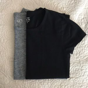 J Crew Short Sleeved Painter tees